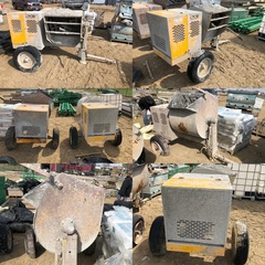 Stow Model: MS-63 Portable Concrete Mortar Mixers
