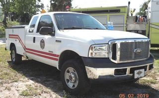 2007 Ford F-250 Utility Truck