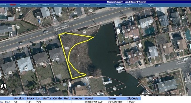 (2) VACANT WATERFRONT LOTS