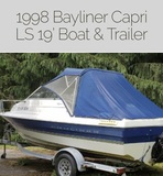 INSPECT TODAY 1998' Bayliner Capri Online Auction Baltimore, Md