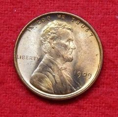 Lot# 1 - 1909 VDB Lincoln Wheat Cent