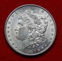 Lot# 4 - 1880 O Morgan Silver Dollar