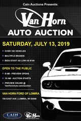 AUTO AUCTION - Over 150 Vehicles!