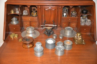 Collection of Inkwells