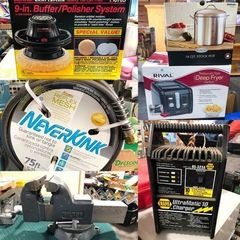 Lots of New Tools and Household Products
