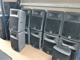 Sound & Lighting Equipment - Complete Liquidation