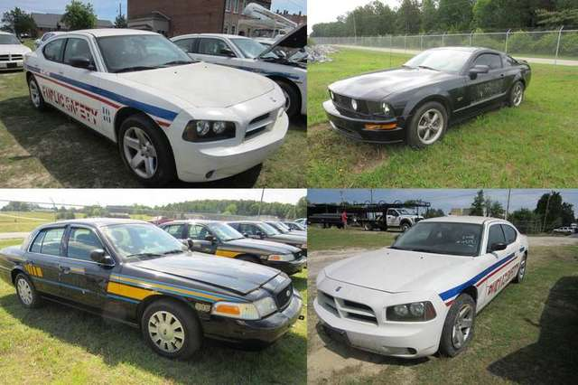 Vehicles in Laurens County: