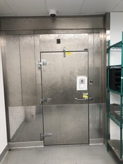 Norlake Walk-In Freezer w/ Floor, 8Ft x 8Ft x 8Ft, Air Dampening Curtain, Works Perfect	Approved Tech to Remove at Buyers Expense, Any Exposed Wires or Holes Need to be Capped at the Buyers Expense