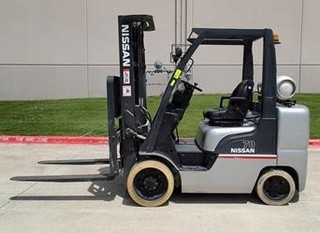 Nissan 7,000 lb Forklift, Material Handling, Wood Working Equip, Tools & More