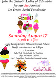 Ice Cream Social & Benefit Auction