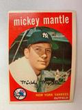 Online Only Auction Of 50's & 60's Baseball & Football Cards Including (3) Mantles