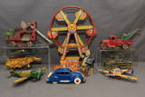Cast Iron Tin Toy & Bank Auction Ending 8/1