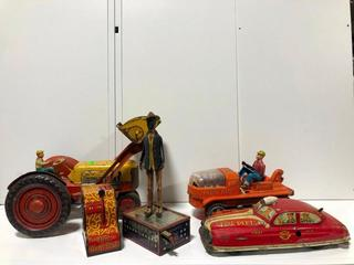 Coon Jigger and Other Vintage Toys