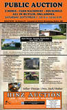 2 HOMES IN BUTLER -FARM MACHINERY - HOUSEHOLD