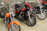 Harley Davidsons, Furniture, Glassware and more!!!