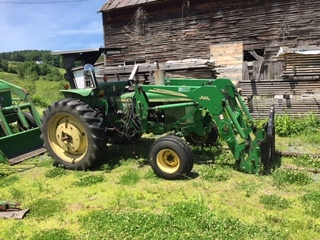 Hay Equipment and Barn Found '57 Chevys