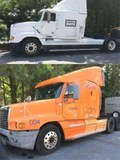 Being sold on behalf of the Lender - 2 Freightliner Diesel Tractors