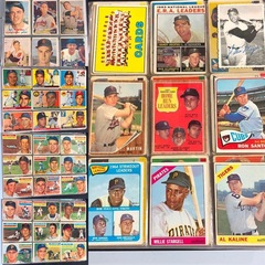 1950's and 1960's Baseball Cards