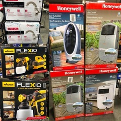 New Air Conditioners and Fans