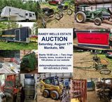 RANDY WELLS ESTATE AUCTION