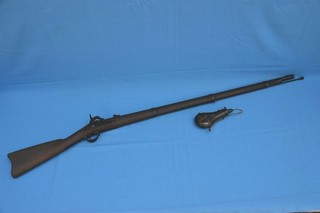 US Springfield 1862 percussion rifle