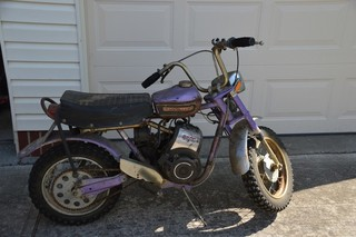 Rupp Roadster 2 mini-bike, not running