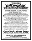NOT YOUR ORDINARY AUCTION EXTRAVAGANZA
