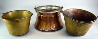 Vintage Copper Buckets