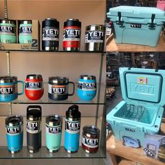 New Yeti Cooler, Cups, Bottles, Mugs, Colsters, Tumblers and More