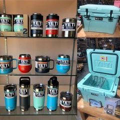 New Yeti Cooler, Cups, Bottles, Mugs, Co
