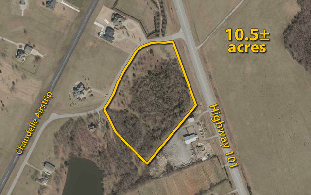 10.5± acres on Highway 101 South: