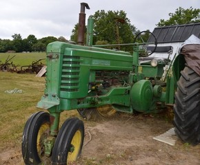 John Deere B, as found