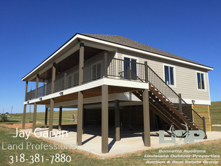 Camp and 2 +/- Acres For Sale on Red River