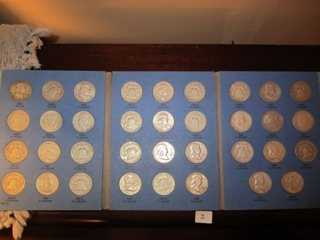 1948-1963 Half Dollar Collection