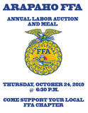 ARAPAHO FFA ANNUAL LABOR AUCTION