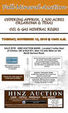 OFFERING APPROX. 1,500 ACRES OIL & GAS MINERAL RIGHTS