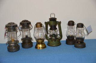 Sample of over 70 lanterns