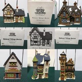 Dicken's Christmas Villages Timed Online Auction