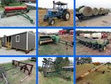 Large Hay & Hay Equipment Estate Auction