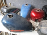 WHIPS CLASSIC SPORSTERS & CUSTOM PAINT SHOP AUCTION