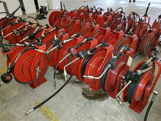 Alemite Oil-Air-WW Fluid Hose Reels