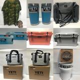 NEW YETI Coolers, Tumblers, Merchandise Timed Auction