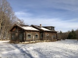 4BR Montgomery Center Log Home on 50± Acres