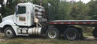 2007 Freightliner Truck - 2004 Fontaine 48' Flatbed