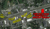 Pre-Auction Listing: Corner Commercial Lot in Downtown Easley