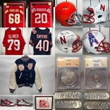Incredible Sports & Husker Memorabilia and Coin Collection Live Auction