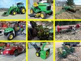 Super Clean & Green Farm & Acreage Equipment-Power Tools-Recreational Equipment-Shop Equipment Estate Auction