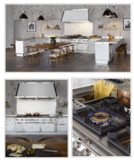 New Showroom Display High End Italian Professional Kitchen Equipment from Officine Gullo $380K Retail Value