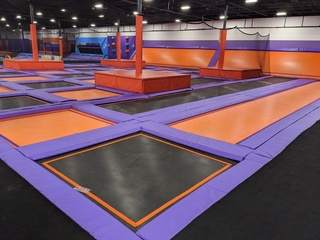 Indoor Trampoline Park Equipment - Complete Liquidation