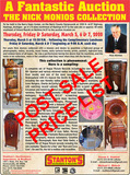 LARGE ESTATE AUCTION:THURSDAY FRIDAY & SATURDAY, MARCH 5TH, 6TH & 7TH, 2020